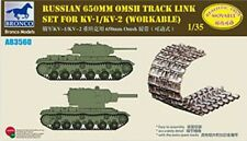 Bronco 1/35 3560 kv-is/kv -85 / Su-152 650mm omsh Pista enlace