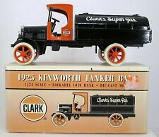 1:25 Ertl 1925 Clark Kenworth Tanker Truck Diecast Coin Bank MIB