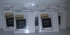 AC/DC Australian Legends of Music 5 x 2013 sealed booklets postage stamps