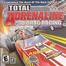 Total Adrenaline 3D Drag Racing Game for Windows PC CD-ROM (2001)
