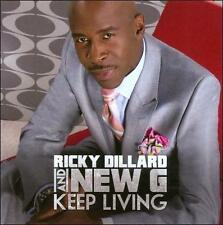 DILLARD,RICKY & NEW G-Keep Living CD NEW