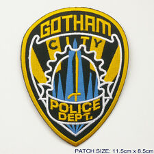 "BATMAN ""GOTHAM CITY POLICE DEPT."" Embroidered Patch"