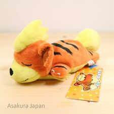 Pokemon Center Original Kuttari Series Growlithe Plush Sleeping Version Japan