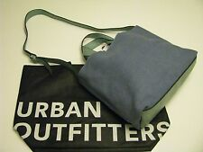 NWT Urban Outfitters BDG Tote Messenger & Cross Body  Bag  Turquoise  Blue