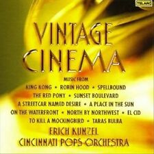 NEW - Vintage Cinema by Erich Kunzel/Cincinnati Pops Orch.