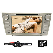 "Car DVD GPS Navi 8"" Player Radio for Toyota Camry 2007 2008 2009 2010 2011+Cam"
