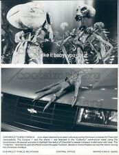 1986 Aliens in Chevrolet Corsica Auto Ad Press Photo
