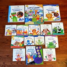 Lot 15 Baby Einstein Book Board Book Set Play-a-Sound Book Look and Find