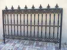 Victorian style Cast Iron Fence Panel
