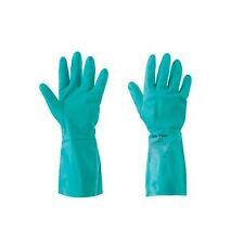 NEW Ansell Sol-Vex 37-675 Chemical-Resistant Gloves Blue Large