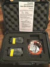 Fluke DSP-FOM/DSP-FTK Fiber Optic Meter Accessory Test Kit 850/1300 Nm  NEW!!!