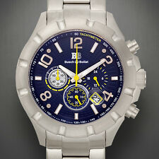 Buech & Boilat Monument Chronograph Mens Watch MSRP $999.99