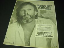 KRIS KRISTOFFERSON The Mystery...The Magic.... 1978 RS mag Product Ad