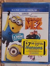 Despicable Me 2 [Blu-ray / DVD / Digital Copy 2012 ] Steve Carell Brand New