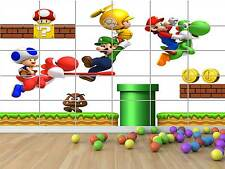 MARIO BROS 04 GEANT POSTER CHAMBRE ENFANTS ROOM KIDS