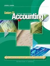 Century 21 Accounting General Journal by Gilbertson