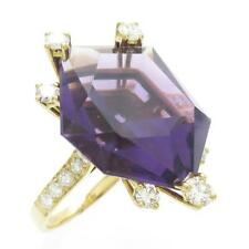 Authentic CHAUMET Amethyst ring  #260-001-391-4387