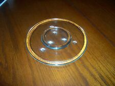 GLASS CANDLE PLATES LARGE AND SMALL