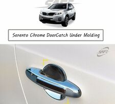 SAFE Chrome Door Catch Under Molding 4Pcs For KIA Sorento 2011 2014