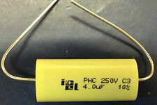 ICEL PHC 4uF 250V 85°C Axial Polypropylene Capacitor