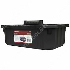 Husky 19x 3x7.5 Tool Storage Cleaning Supply Garden Carrying Tote Caddy USA Made