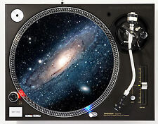 DJ INDUSTRIES - ANDROMEDA GALAXY - DJ SLIPMATS (1 PAIR) 1200's or any turntable