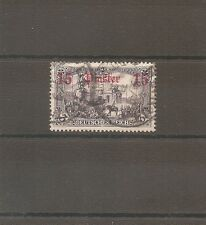 TIMBRE ALLEMAGNE DEUTSCHE KOLONIE GERMAN LEVANT N°39 OBLITERE USED