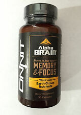 Onnit Labs Alpha Brain Memory & Focus 30 Capsules BEST PRICE