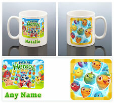 FARM HEROES SAGA FACEBOOK GAME APP MUG Gift Birthday Present Mothers Day