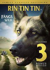 4-Movie Family Classics: Featuring Rin Tin Tin Jr. in Fangs of the Wild, New DVD