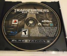 Used Disc Only Transformers: The Game (Sony PlayStation 3, 2007) Free Shipping!