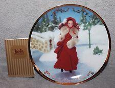 """Hallmark Keepsake Victorian Elegance Barbie Plate 1997 8"""""""