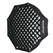 Godox 80cm Foldable Octagon Honeycomb Grid Umbrella Softbox For Flash Speedlite