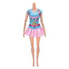 Newest Doll Dress Beautiful Party Clothes Top Fashion Dress For Barbie Doll FL