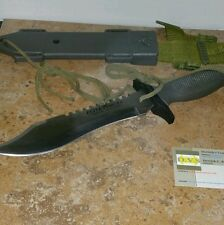 Combat Evolution Elite Forces Military Survival Knife With Sheath