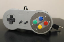 Retro Super Nintendo SNES USB PC/MAC Controller New! Plug n Play - Cdn Seller
