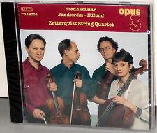 OPUS 3 CD 19702: Stenhammar etc- Zetterqvist String Quartet - OOP SWEDEN 1997 SS