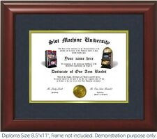 Slot Machine Diploma - Personalized with your Name/Date- Best on eBay. Gambling