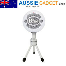 USB Microphone w/ HD Audio for PC MAC Computer Blue Snowball Ice Microphone
