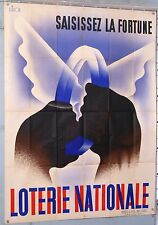 VINTAGE POSTER A SIMON NATIONAL LOTTERY SEIZURE THE FORTUNE circa 1930