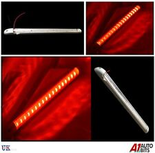 18 led 1X 24V red light strip bar truck camion cabine interior 400MM interrupteur on/off