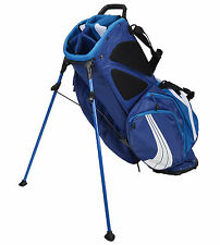 NEW Puma Golf FormStripe Stand Bag 8-way Top Monaco Blue / Astor White