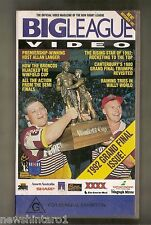 #JJ4,    RUGBY  LEAGUE  VHS VIDEO TAPE - BIG  LEAGUE ISSUE 6 NOV. 1992