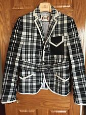 MONCLER GAMME BLEU Thom Browne New $2,250 Puffy Down Runway Jacket Blazer 1