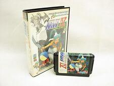Mega Drive MONSTER WORLD IV 4 No Instruction ccn Sega Genesis Japan Game md