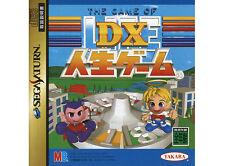 ## SEGA SATURN - DX Jinsei Game (T-10302G) (JAP / JP / JPN Import) - TOP ##
