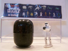 Star Wars Tombola 1997 Stormtrooper figurine with egg and List