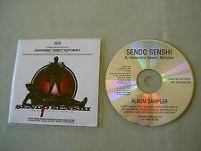 """SENDO SENSHI Film Soundtrack promo CD album Alessandro """"Saseko"""" Motojima"""