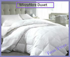 Luxurious Microfibre Duvet Quilt, Feels like Down 10.5 Tog All Sizes Available