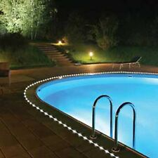 Solar Powered Power LED Rope Light Great for Swimming Pool Walkway Garden Stairs